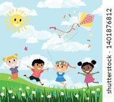 vector illustration of cartoon...   Shutterstock .eps vector #1401876812