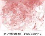 horizontal mosaic banner. low... | Shutterstock .eps vector #1401880442