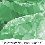 horizontal mosaic banner. low... | Shutterstock .eps vector #1401880445