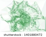 horizontal mosaic banner. low... | Shutterstock .eps vector #1401880472