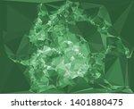 horizontal mosaic banner. low... | Shutterstock .eps vector #1401880475