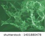 horizontal mosaic banner. low... | Shutterstock .eps vector #1401880478