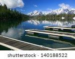 Wooden Docks On A High Rocky...