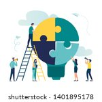vector illustration of people... | Shutterstock .eps vector #1401895178