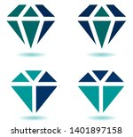 diamond  emerald  ruby   ... | Shutterstock .eps vector #1401897158