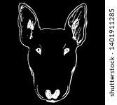 isolated vector illustration.... | Shutterstock .eps vector #1401911285