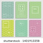 sale banners  flyers with... | Shutterstock .eps vector #1401913358