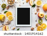 healthy super food and... | Shutterstock . vector #1401914162