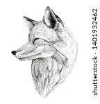 black ink tattoo composition....   Shutterstock . vector #1401932462