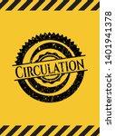 circulation grunge black emblem ...   Shutterstock .eps vector #1401941378