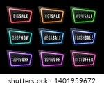 big sale  wow sale  shop now ... | Shutterstock . vector #1401959672