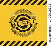 beset black grunge emblem...   Shutterstock .eps vector #1402018928