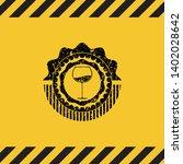 wine cup icon black grunge...   Shutterstock .eps vector #1402028642