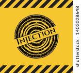 injection black grunge emblem ...   Shutterstock .eps vector #1402028648
