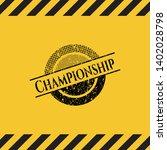 championship black grunge...   Shutterstock .eps vector #1402028798