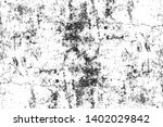 black and white distressed... | Shutterstock . vector #1402029842