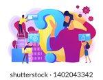 self management  life coaching. ... | Shutterstock .eps vector #1402043342