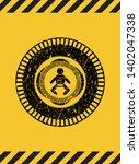 baby icon grunge black emblem...   Shutterstock .eps vector #1402047338