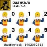 set of industrial worker with... | Shutterstock .eps vector #1402052918