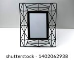 wooden frame for painting or... | Shutterstock . vector #1402062938