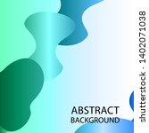 dynamic texture background with ... | Shutterstock .eps vector #1402071038