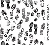 imprint soles shoes pattern | Shutterstock .eps vector #140210656