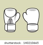 boxing gloves | Shutterstock .eps vector #140210665