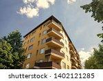 modern house in berlin  germany.... | Shutterstock . vector #1402121285