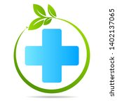 health care green medical cross ... | Shutterstock .eps vector #1402137065