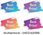 best price color promo... | Shutterstock .eps vector #1402163588