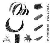 vector design of hardwood  and... | Shutterstock .eps vector #1402164662