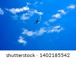 Silhouette Of Helicopter In...