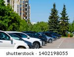 moscow  russia   may  15  2019  ... | Shutterstock . vector #1402198055