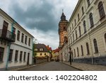 street leading to dominican... | Shutterstock . vector #1402204802