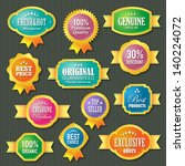 set of badges and labels | Shutterstock .eps vector #140224072