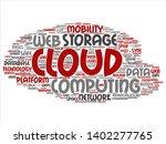 vector concept conceptual web... | Shutterstock .eps vector #1402277765