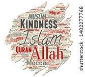 vector conceptual islam ... | Shutterstock .eps vector #1402277768