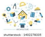 architecture concept. idea of... | Shutterstock .eps vector #1402278335