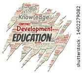 vector conceptual education ... | Shutterstock .eps vector #1402279082