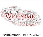 vector concept or conceptual... | Shutterstock .eps vector #1402279862