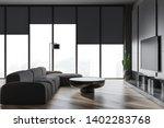 Interior Of Modern Living Room...