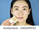 cosmetic makeup remover  asian... | Shutterstock . vector #1402290932