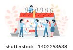 planning concept. idea of... | Shutterstock .eps vector #1402293638