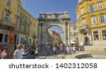 pula  croatia   september 05... | Shutterstock . vector #1402312058