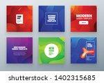 set of social sale banner... | Shutterstock .eps vector #1402315685