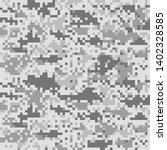 digital camouflage pattern ... | Shutterstock .eps vector #1402328585