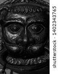 cast iron decorative figure of... | Shutterstock . vector #1402343765