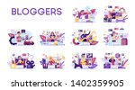 Blogger Set. Various Video...