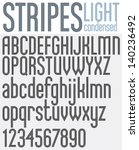 stripes retro style graphic... | Shutterstock .eps vector #140236492