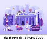 online banking ui illustration...